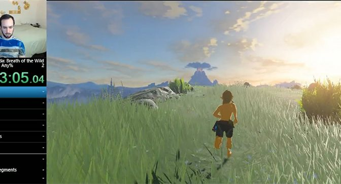 SpeedRunner profesional ha terminado Breath of the Wild antes del lanzamiento